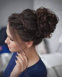 hairstyles for curly and messy hair curly hairstyles top curly messy bun hairstyle gallery and diy