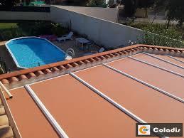vitrage toiture veranda les panneaux isolants de toiture coladis