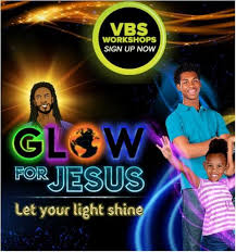let your light shine vacation bible vacation bible glow for jesus at new elizabeth ame