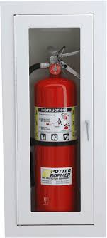 surface mount fire extinguisher cabinets potter roemer alta series surface mounted fire extinguisher cabinets