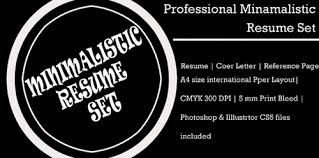 reference resume minimalist background cing 115 best free creative resume templates download