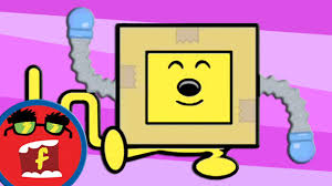 robot dance fredbot children u0027s cartoon wow wow wubbzy