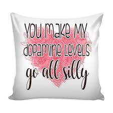 Loves Quotes For Him by Dopamine Levels Love Quotes For Him Pillow Cover 2 Colors Good
