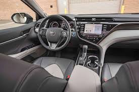 2012 Toyota Camry Se Interior 11 Cool Facts About The 2018 Toyota Camry Motor Trend