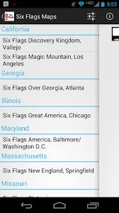 Six Flags Hours Chicago Amazon Com Six Flags Maps Appstore For Android