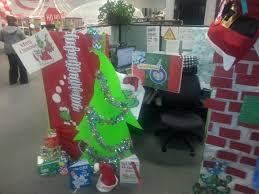 28 best cubicle christmas decorations images on pinterest