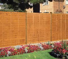 grange professional lap fence panel golden brown gardensite co uk