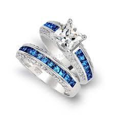 wedding ring sets cheap wedding rings sapphire wedding sets white sapphire wedding ring