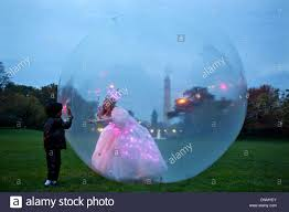 glinda the good witch childrens costume glinda the good witch greets children from inside her bubble