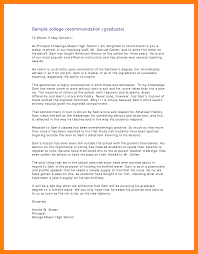 sample college recommendation letter from parent gallery letter