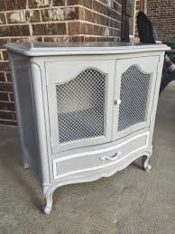 drexel french provincial nightstand painted with general finishes