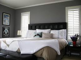 Popular Bedroom Colors Gray Bedroom Colors With Black Furniture Decolover Net