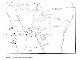 Nancy France Map by 4th Armored Division In The Encirclement Of Nancy