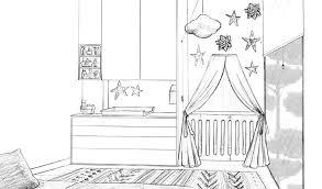dessin chambre bébé décoration coin de page dessin couleur inspirant dessin pour chambre