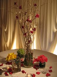 wedding flowers tall table centerpieces wedding flowers in