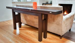 console turns into dining table transformer table transformer furniture infusion furniture