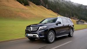 mercedes size suv driving the 2017 mercedes gls size suv in the austrian