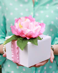 Michaels Gift Wrap - easy diy sweet gift wrapping box idea michaels makers springtime