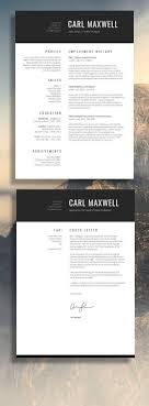 Resume Template Layout The 25 Best Modern Resume Ideas On Cv Template