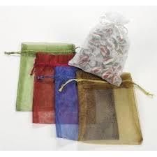 bulk gift bags large sheer mesh drawstring gift bags 1 dozen bulk walmart