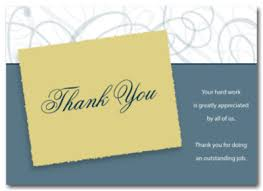 thank you card best thank you cards for employees work