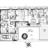plan de maison 5 chambres plain pied plan de maison 5 chambres decor plan maison m moderne facade 28