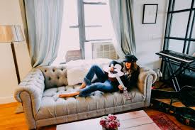 Really Comfortable Sofas Meet The Most Comfortable Couch Joybird Natalie Off Duty