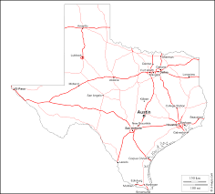 Blank State Maps by Texas Outline Texas State Map With Cities Download Blank Outline