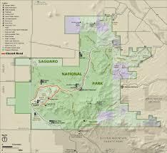 Us Desert Map Monsoon Season Storms Cause Flash Flooding In Saguaro National