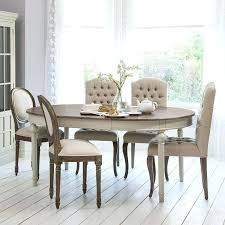 oval dining table set for 6 extendable round dining table set extending dining table and chairs