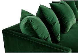 furniture enticing green velvet sofa for home furniture ideas