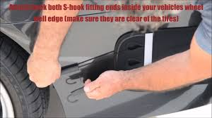 nissan rogue rear bumper protector rear bumper guard installation instructions youtube