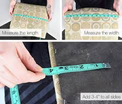 How To Calculate Yardage For Upholstery How To Measure Dining Room Chairs For Upholstery Fabric Ofs