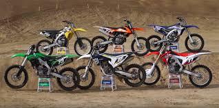 250 motocross bikes 2016 250f motocross shootout u2013 motousa derestricted