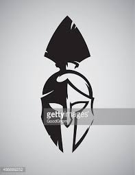 spartan helmet vector art getty images