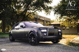 roll royce black ag luxury wheels rolls royce phantom forged wheels