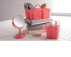 glass bathroom jars canisters my web value