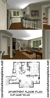 One Bedroom Apartment Designs 97 Best Home Plans Images On Pinterest Garage Apartments Garage