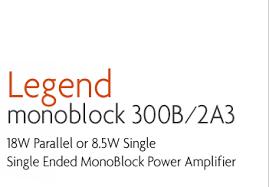 ank audiokits legend monoblock 300b tube amplifier