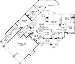 Home Building Blueprints by Chestatee River House Plan Builders Floor Plans House Plans
