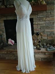 vintage inspired art deco wedding or reception dress bridal gown