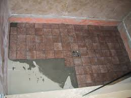 basement ceiling leak u2013 part 18 u2013 shower floor tile