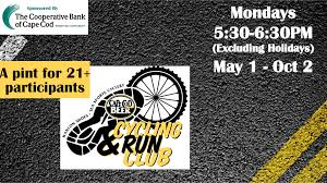 cycling u0026 run club every monday cape cod beer cape cod beer