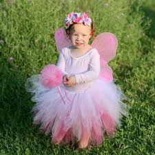Flower Fairy Halloween Costume Pink Fairy Costume Flower Fairy Costume Toddler Dress