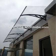 Patio Door Awnings Easy Assembly Diy Polycarbonate Plastic Patio Door Awnings