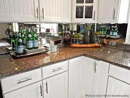 mirror backsplash kitchen 26 best mirrored backsplashes images on mirror