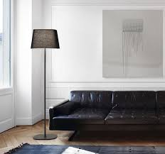Black Leather Sofa Interior Design Architecture Living Room Designs And Modern Kitchen Design With