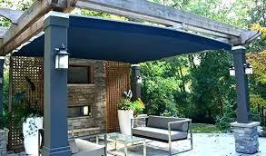 Cheap Backyard Deck Ideas Diy Cheap Backyard Canopy Bancdebinaries