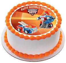 transformers cake toppers transformers rescue bots 6 edible cake or cupcake toppe edible