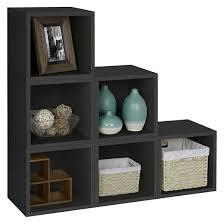 Target Shelves Cubes by Way Basics 6 Stackable Eco Cubes Storage Black Formaldehyde